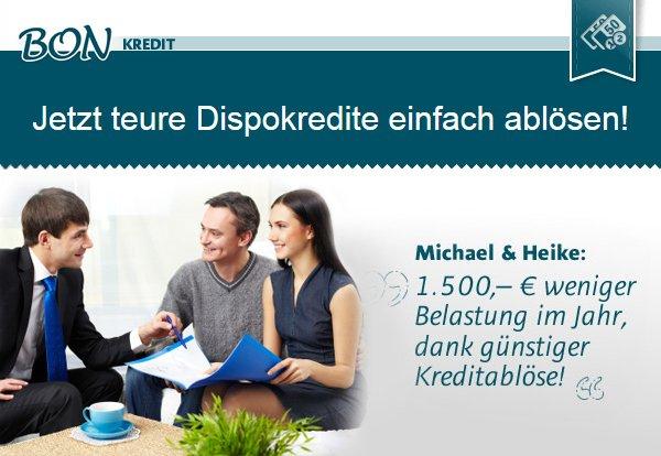 bon-kredit.de - Jetzt teuere Dispokredite einfach einlösen