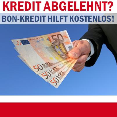 Kredit abgelehnt? Wir helfen Ihnen!