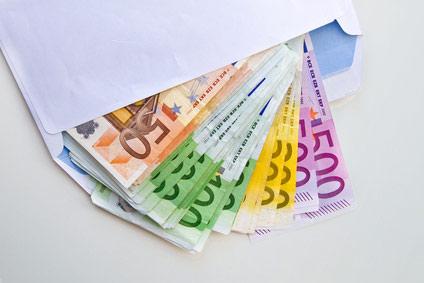 Bargeld ganz diskret per Post