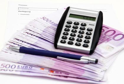 Wenn das Geld knapp ist, hilft Bon-Kredit