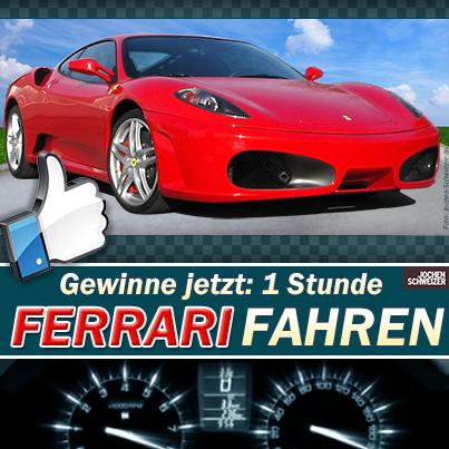 Ferrari-Gewinnspiel