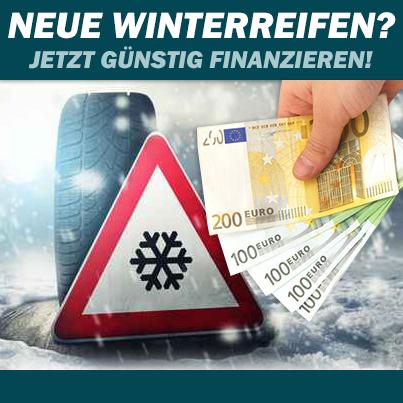 Neue Winterreifen? Bon-Kredit hilft mit einem Kleinkredit