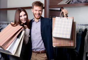 Konsumkredit aufnehmen und shoppen gehen
