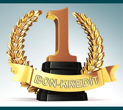 Gold-Medaille für Bon-Kredit – wir sagen DANKE!