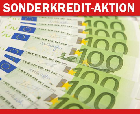Vorab-Info: Sonderkredite zu Top-Konditionen
