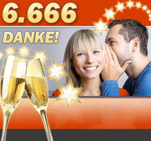 6.666 Fans bei Facebook – wir sagen DANKE!