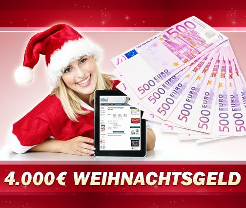 Nur noch 12 Tage: Bargeld vor Weihnachten