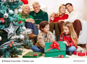 Kredit für Weihnachtsgeschenke
