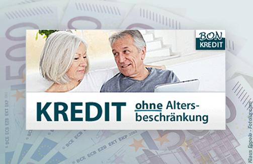 Kredit ohne Altersbeschränkung