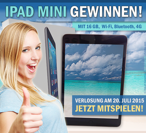 iPad Mini-Gewinnspiel bei Facebook