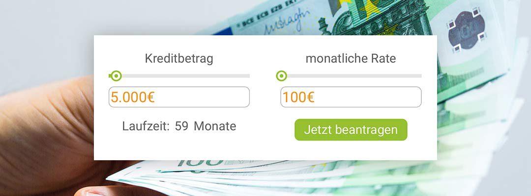 Neu bei Bon-Kredit: Der praktische Kreditrechner